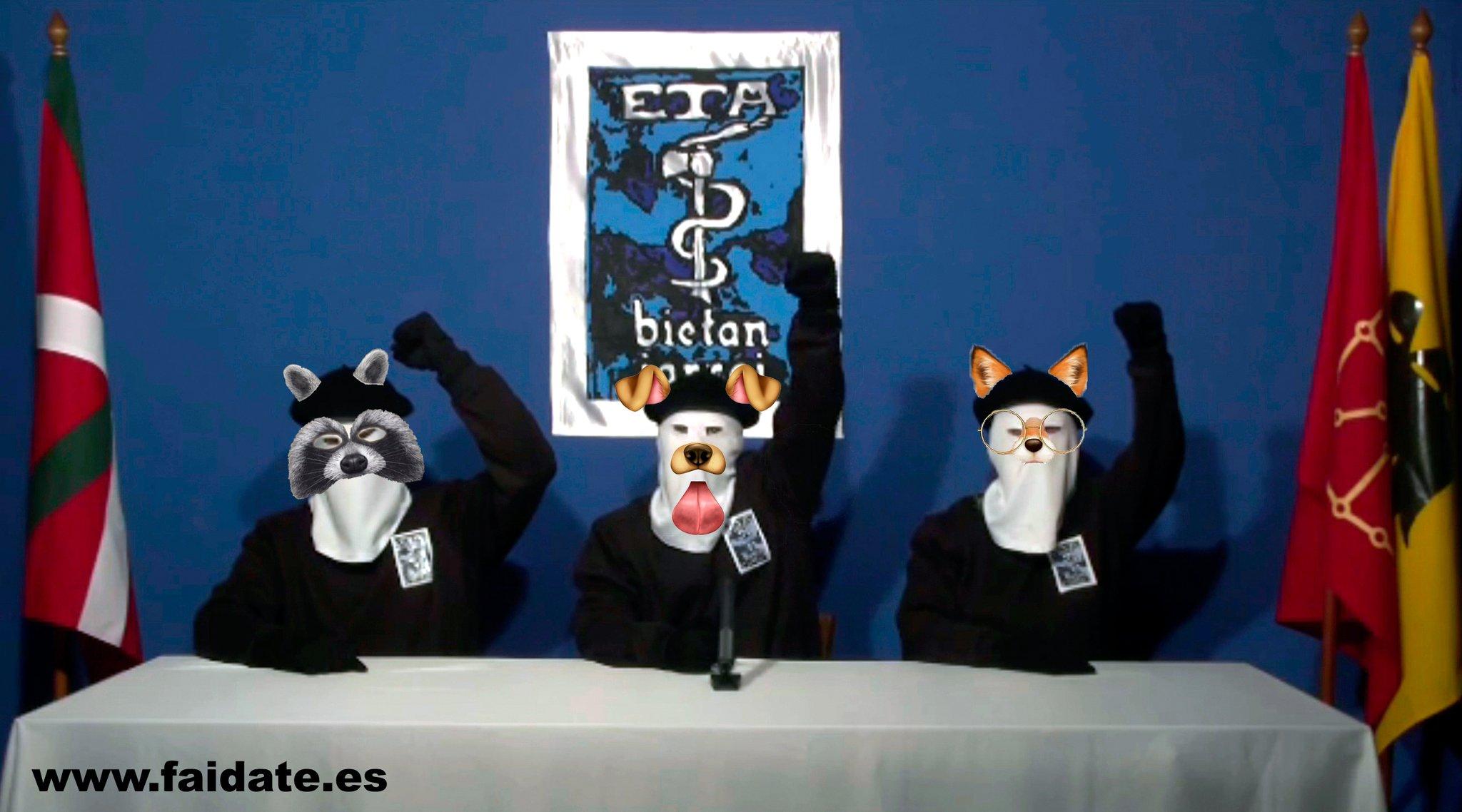 fotomontaje de humor de ETA
