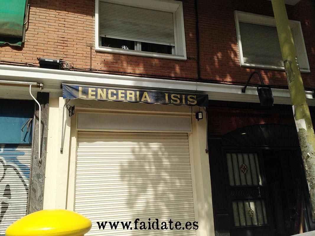 branding o naming desafortunado. Una tienda de lencería que se llama ISIS (acrónimo de Daesh o Estado Islámico)