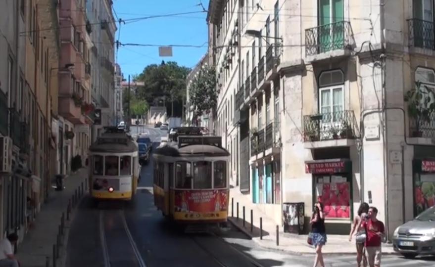 morir en Lisboa por los tranvias