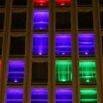 Tetris en un rascacielos