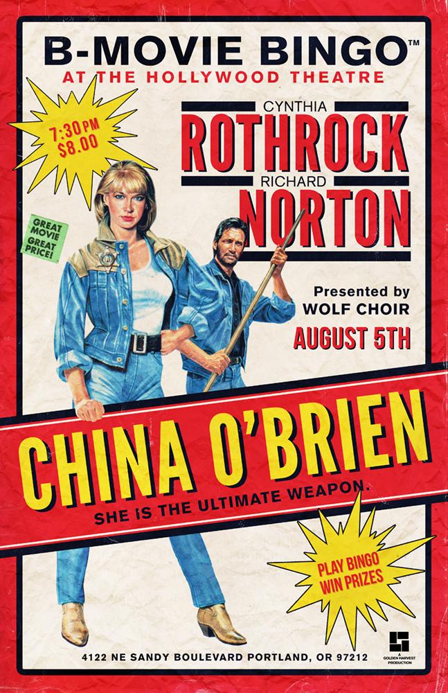China o'Brien - Cynthia Rothrock